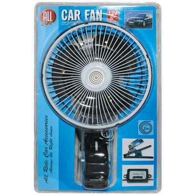 ALL RIDE 72227 FAN 6INCH 12V CLIP-ON