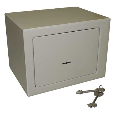 ED 68258 SAFE & SECURE VAULT MINI & 2 KEYS 23X17X17 Mini χρηματοκιβώτιο