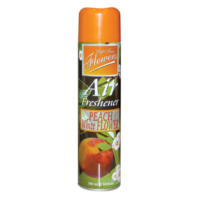 ED 89993 AIRFRESHENER 300ML PEACH & FLOWER NON-FLEMMABLE LIFETIME Aποσμητικό χώρου
