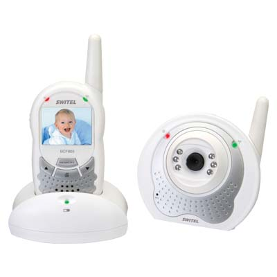 SWITEL BCF 805 DIGITAL WIRELESS BABY MONITOR WITH VIDEO Ασύρματο baby monitor με κάμερα και οθόνη 2΄΄