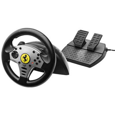 THRUSTMASTER 2960702 CHALLENGE RACING WHEEL PC Τιμονιέρα Ferrari challenge για PC και PS3