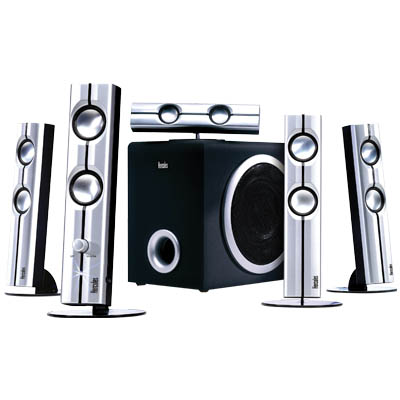 HERCULES 4780642 XPS 5.1 70 SLIM SPEAKER KIT Σετ ηχείων 5.1 140W - XPS 5.170