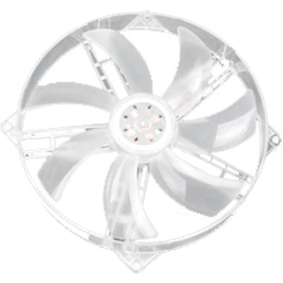 AKASA F1825SM-CB 18CM 5LED CASE FAN ON 14 CM FITTING Ανεμιστήρας Η/Υ 180mm με μπλέ LED.