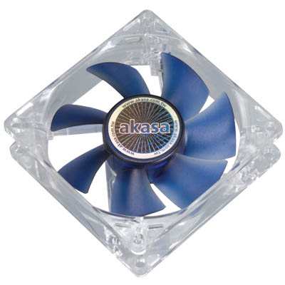 AKASA FN051 8CM PWM SILENT SMART FAN Ανεμιστήρας Η/Υ 80mm.
