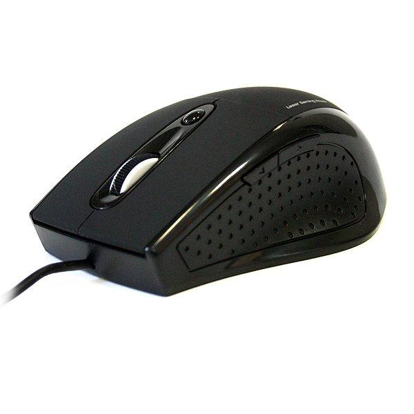 ΕΝΣΥΡΜΑΤΟ ΠΟΝΤΙΚΙ ΓΙΑ PC - LAPTOP MOUSE OMEGA OM-204 LASER GEPARD 800-1600-2400-3200DPI 6B USB