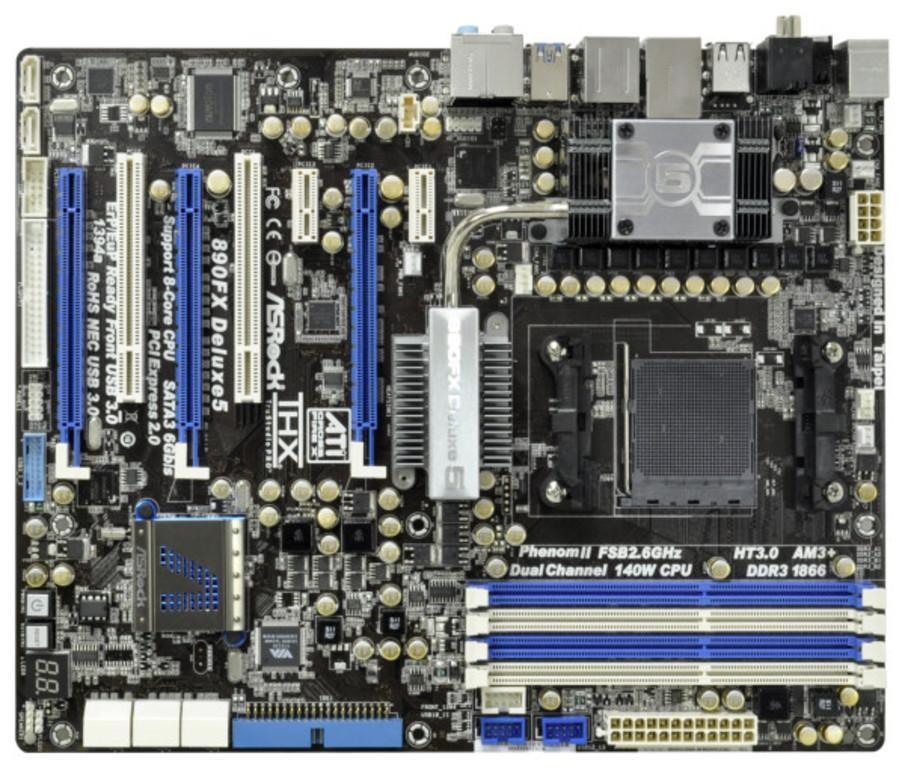 ΜΗΤΡΙΚΗ MOTHERBOARD FOR AMD ASRock 890FXDELUXE5