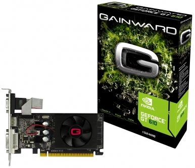 ΚΑΡΤΑ ΓΡΑΦΙΚΩΝ NVidia Gainward GT 610 1GB 2647 DDR3 64 bits