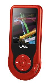 ΜΕΣΟ ΑΝΑΠΑΡΑΓΩΓΗΣ MP3 OSIO SR-4340 MULTIMEDIA PLAYER RED COLOUR