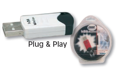 USB ADARTER SPEED SPU-ID1 /ZE ID7 ΙNFRARED ΓΙΑ PC IRDA WIRELESS BRIDGE USB 1.1 PLUG & PLAY