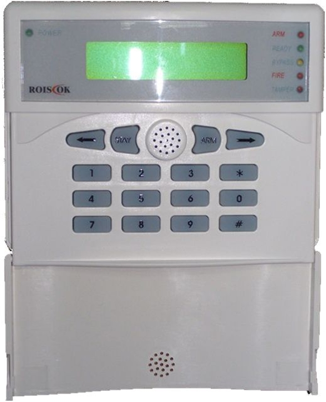 ΠΛΗΚΤΡΟΛΟΓΙΟ ΜΕ LCD ΟΘΟΝΗ ROICSOK RP-208KCLB ΓΙΑ ΤΟΝ ΣΥΝΑΓΕΡΜΟ RP208CN ΜΕ 8  ΖΩΝΕΣ   dcb6be483f6