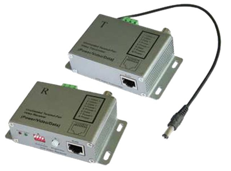 VDB-112T REALSAFE VIDEO CONVERTER TRANSMITTER Balun ENEΡΓΟ ΠΟΜΠΟΣ 1 ΚΑΝΑΛΙΟΥ,RJ 45, 2400mDC-8MHz, 60dB crosstalk, Transient immunity: 6000V /1.2μS, DC 12V/50mA