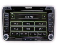 TELEFUNKEN MULTIMEDIA PLAYER SKODA DIVX MP3 GPS ΠΛΟΗΓΟΣ ΧΩΡΙΣ CD - DVD TF AS 9180
