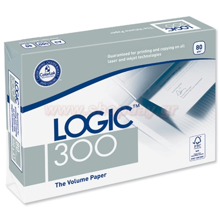 PHOTOCOPY Α4 PAPER LOGIC 300 A4 80gr 500 PAPERS