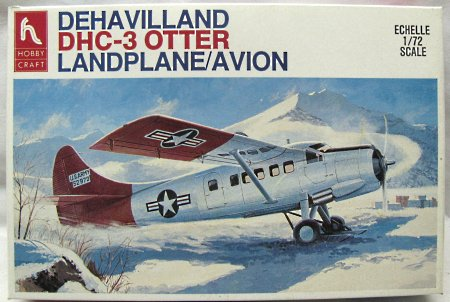 1/72 HC1396 Hobby Craft De Havilland DHC-3 Otter - USAF Arctic Supply or RCAF 411 Sq. CRB Downsview model kit