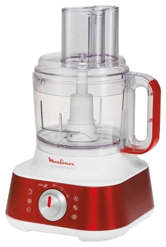 Πολυμίξερ Moulinex FP659G Masterchef 8000, Red Ruby Collection