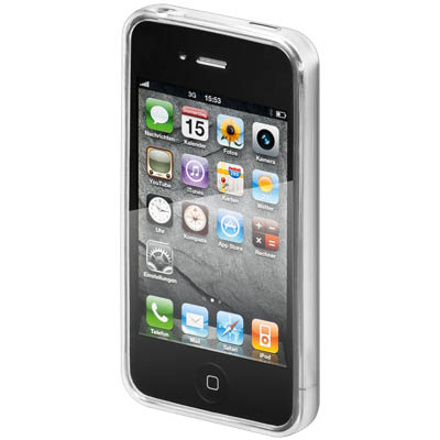 62504 SILICON CASE (WHITE) FOR IPHONE 4S Θήκη από σιλικόνη για το iPhone 4s