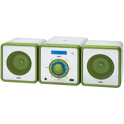 MC 4455 GREEN STEREO MUSIC CENTER 000043 Στερεοφωνικό Music Center 100W(PMPO)