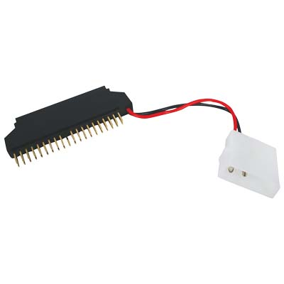 "CMP-CI 060 2.5""ADAPTER+5.25 POWER Καλώδιο KONIG 40pin IDE + 5.25 τροφοδοσία - 43pin IDE 2.5"""