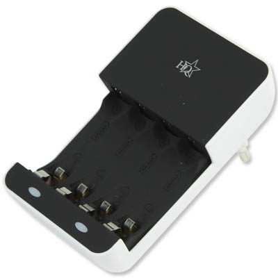 HQ-CH 02E BATTERY CHARGER AA/AAA Φορτιστής για μπαταρίες ΑΑ/ΑΑΑ