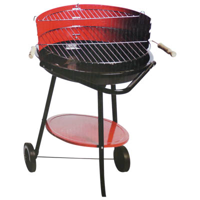 ED 45612 BARBECUE STEEL 49.5X61.5X76CM Ψησταριά barbeque από ατσάλι