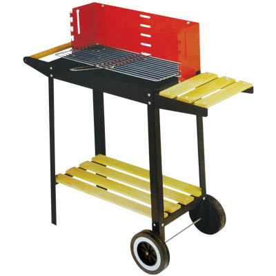 ED 95218 BARBECUE STEEL 83X28X83CM Barbecue Ψησταριά