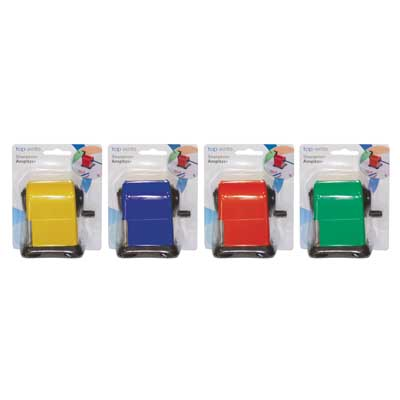 TOPWRITE 29886 SHARPENER 5.5X6.5X8CM 4ASS COLOUR Ξύστρα μολυβιών