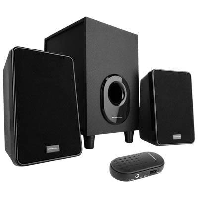 MODECOM MC-S1 SPEAKER SET 2.1 SYSTEM WITH WIRED VOLUME CONTROL Σετ ηχείων 2.1 5W