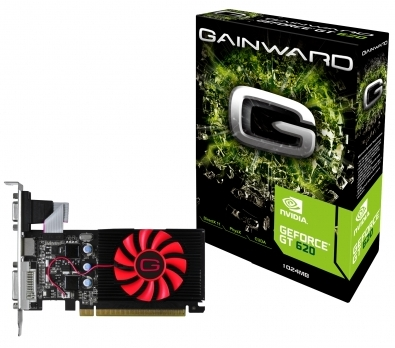 ΚΑΡΤΑ ΓΡΑΦΙΚΩΝ NVidia Gainward GT 620 2GB 2678 DDR3 64 bits
