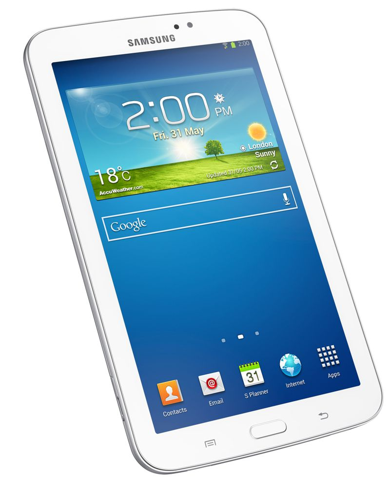 Συσκευή Tablet Samsung Galaxy Tab 3 7.0 WiFi SM-T210 (8GB) White